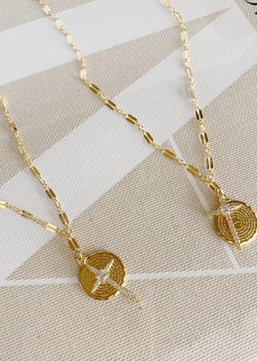 Bracha Hopeful Cross Necklace