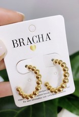 LABEL Roma Small Hoops