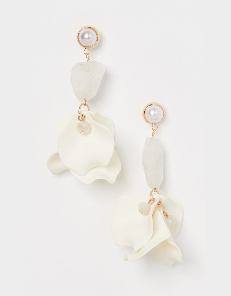Shashi Orchid Earring