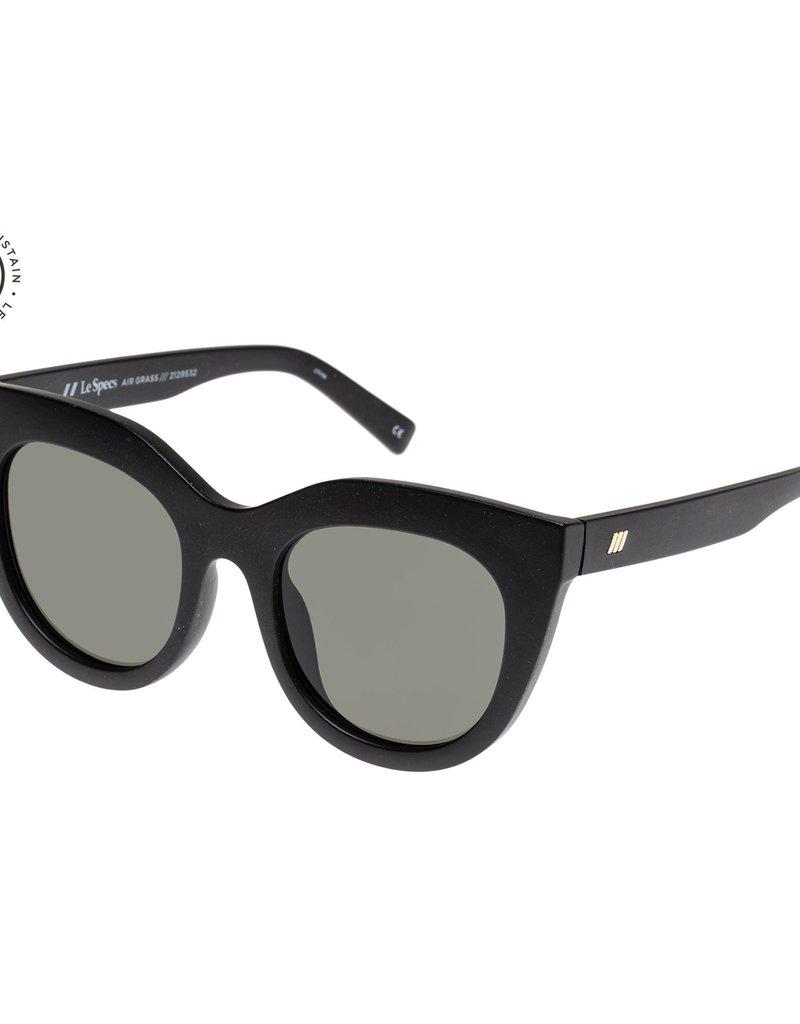 Le Specs Air Grass Sunglasses - Black Grass