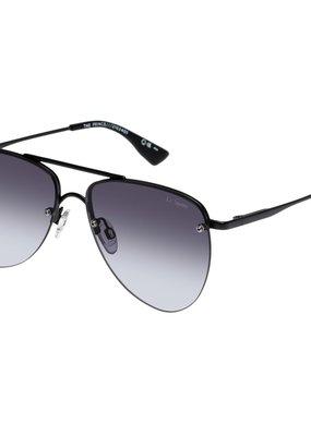 Le Specs The Prince Sunglasses - Matte Black