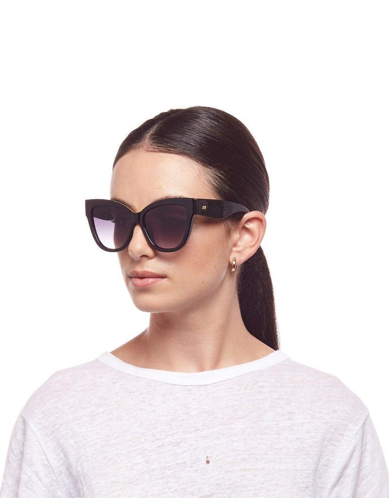 Le Specs Le Vacanze Sunglasses - Black/ Gold