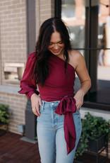 Amanda Uprichard Long Sleeve Bexley Top