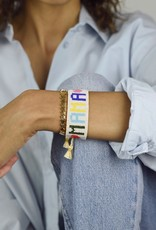 HART Rainbow MAMA Beaded Bracelet