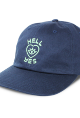 """HART Navy Blue """"Hell Yes"""" Hat"""