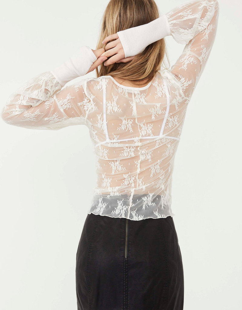 Free People U Into This Long Sleeve