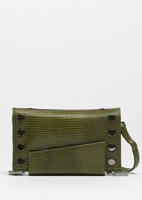 Hammitt Levy Crossbody Wallet - Evergreen Lizard