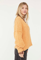 Free People Theo V Neck - Goldy