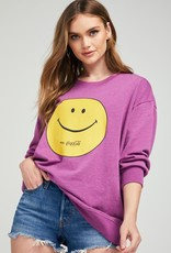 Wildfox Smile With Coke Roadtrip Sweatshirt