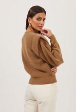 ASTR Romina Statement Sleeve Sweater