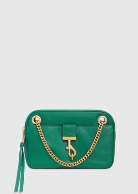 Rebecca Minkoff Lou Shoulder Bag - Emerald