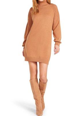 BB Dakota Little Wing Dress - Light Camel