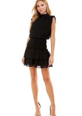 LABEL Layla Dress - Black