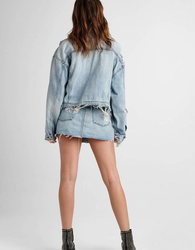 Hudson Vivid Denim Mini Skirt - High & Dry