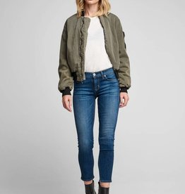 Hudson Tally Crop Skinny  - Unfamed