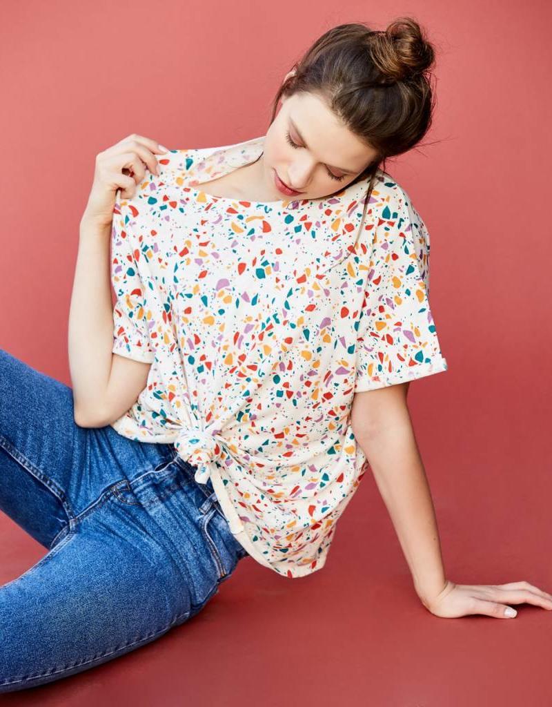 Callahan Liz Knotted T-Shirt