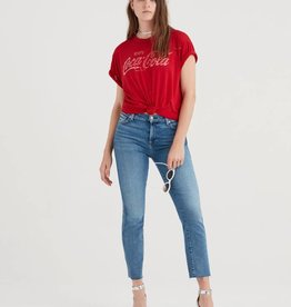 7 For All Mankind Edie With Cut Off Hem - Muse