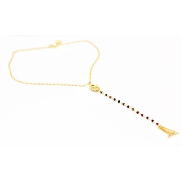Beaded Drop Necklace
