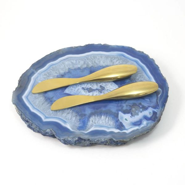 Small Blue Agate Platter