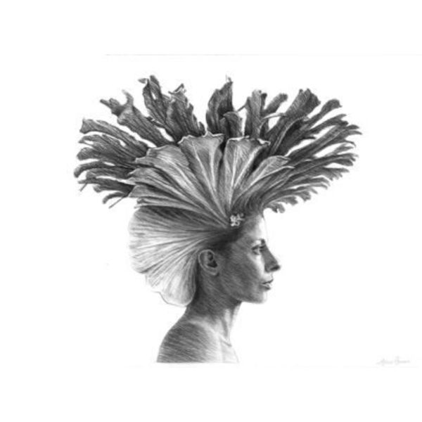 'Meenal Fern' Acrylic Print