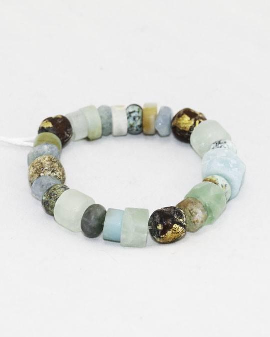 Amazonite, Stegodon Bracelet