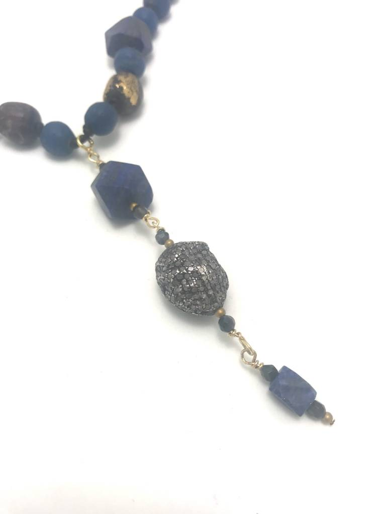 Raw Lapiz Lazuli Necklace