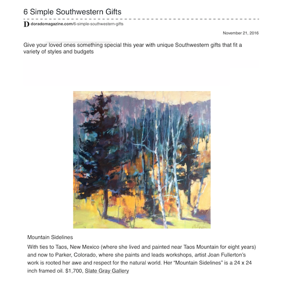 Dorado Magazine | 6 Simple Southwestern Gifts | November 2016