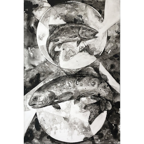 DOUBLE TROUT  *Sold*