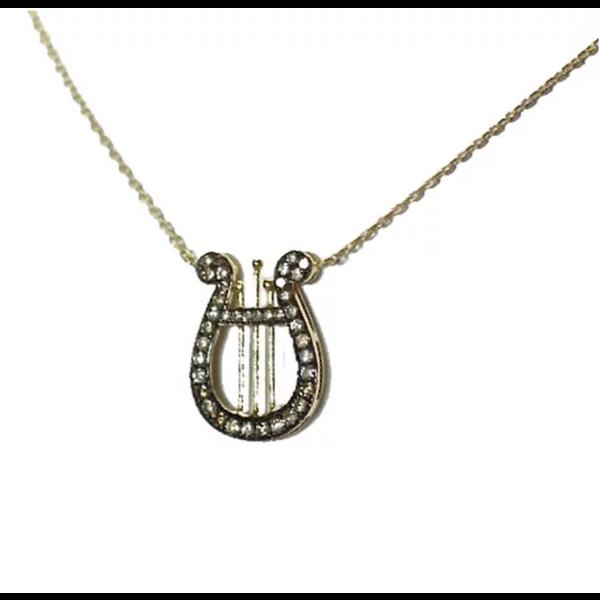 AP Lyre Necklace