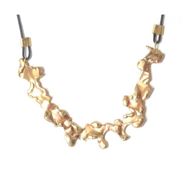 KT Random Form Necklace