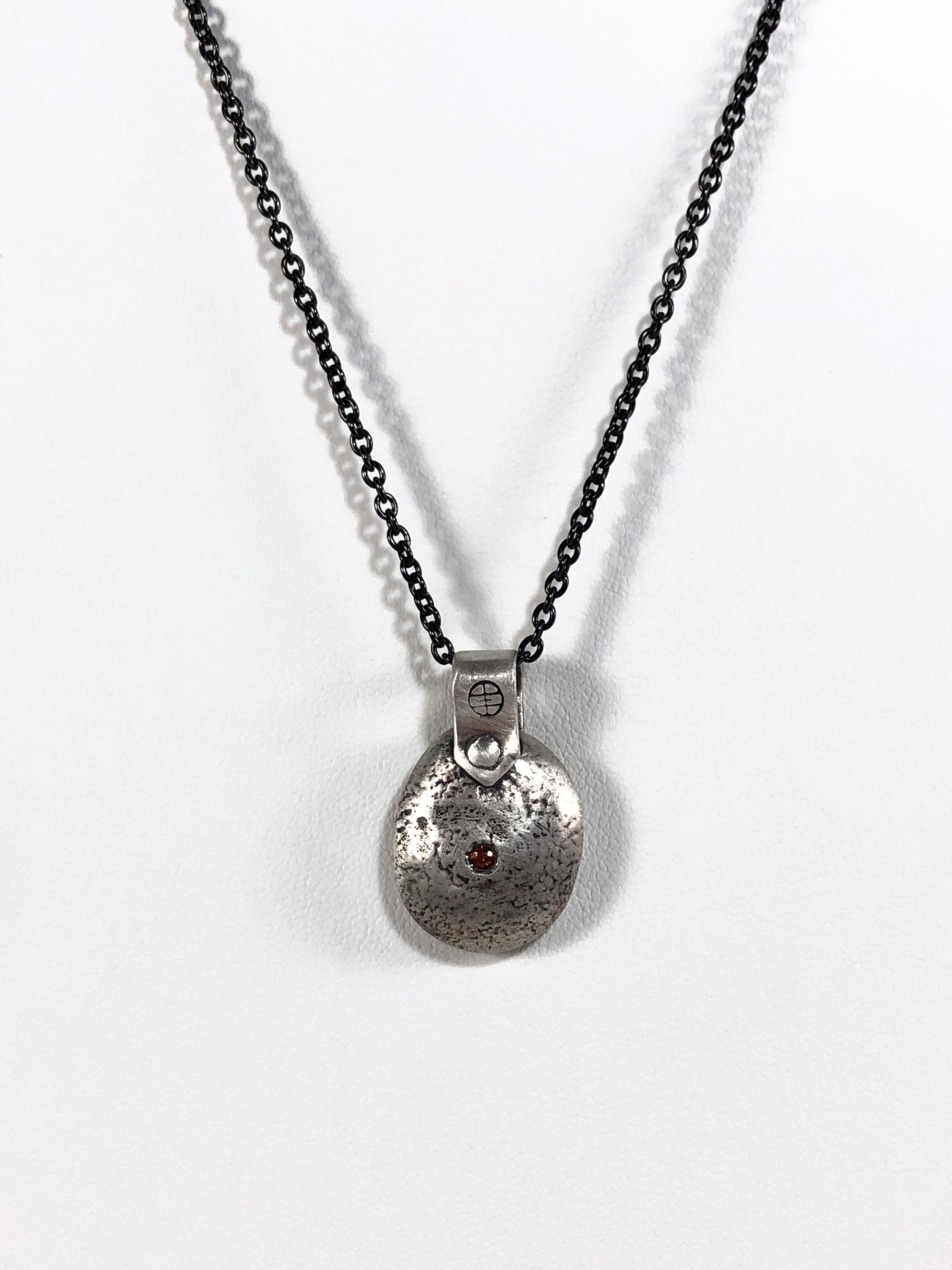 Gratitude Blob Silver - Medium