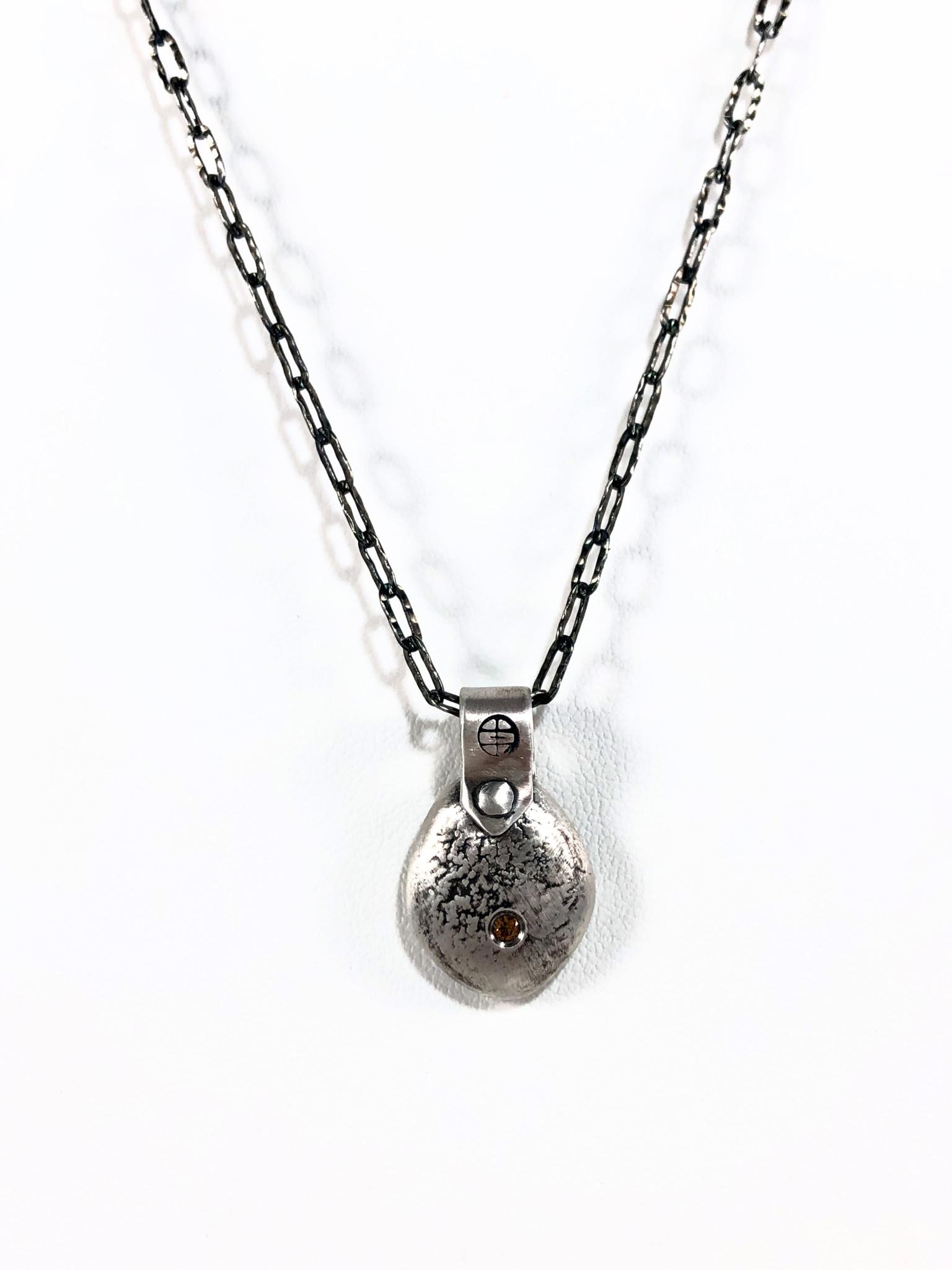 Gratitude Blob Silver - Small