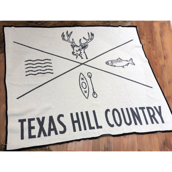 Texas Hill Country Throw