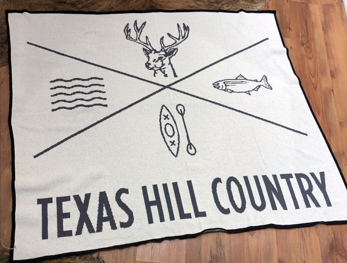 I2G Texas Hill Country Throw