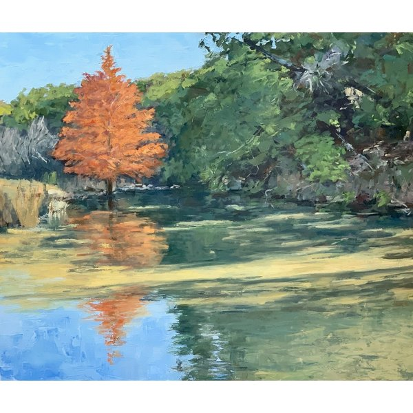 AFTERNOON, BUFFALO CREEK  *Sold*