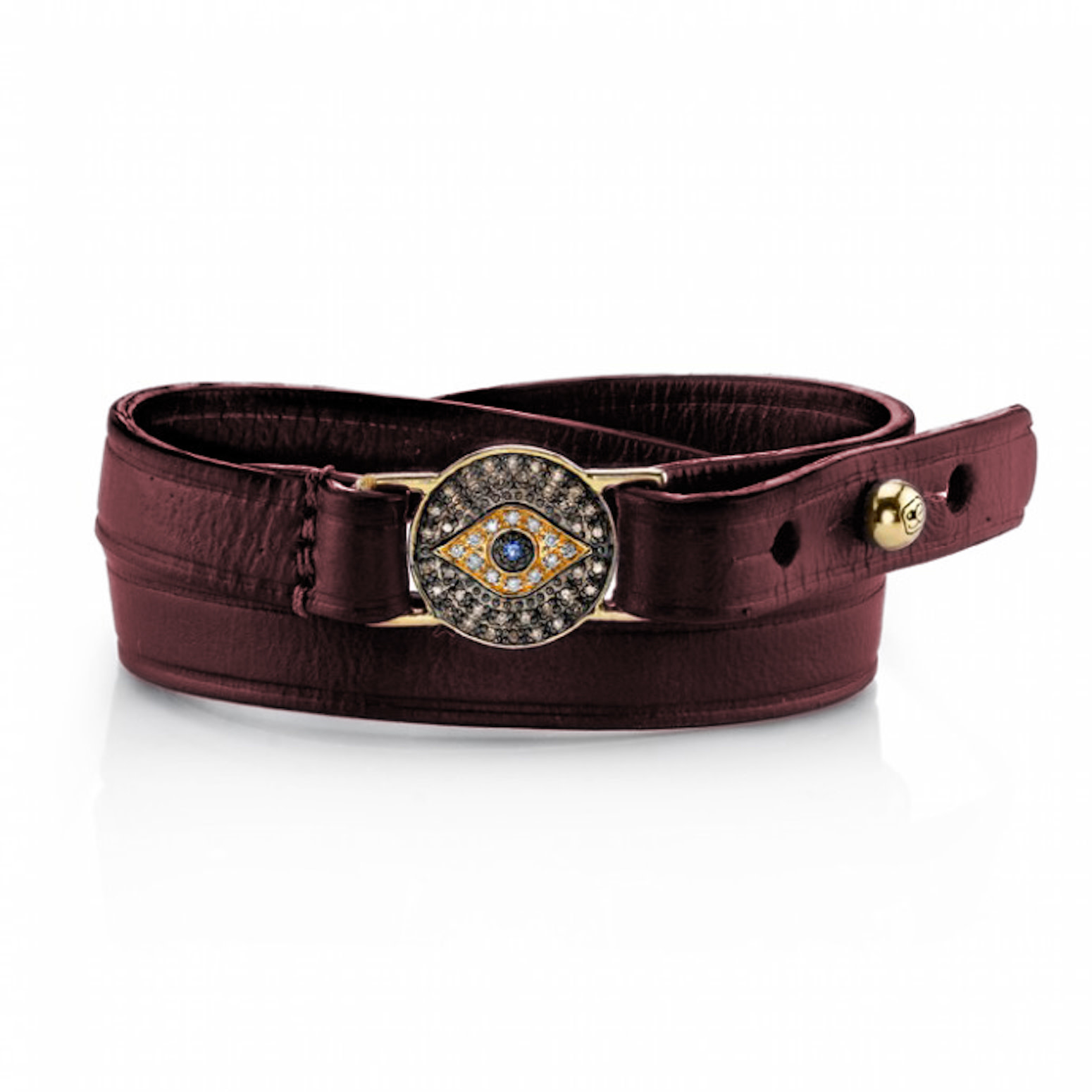 Evil Eye Medallion Bracelet