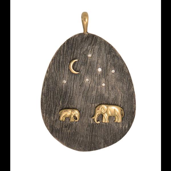 Tsavo Nights Large Pendant