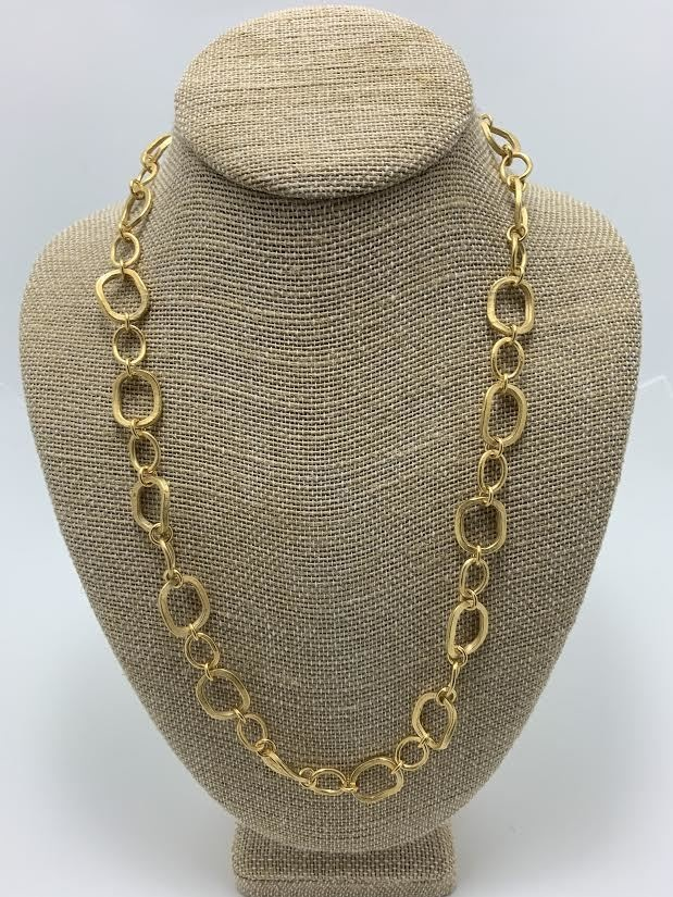Chunky Link Necklace 24""