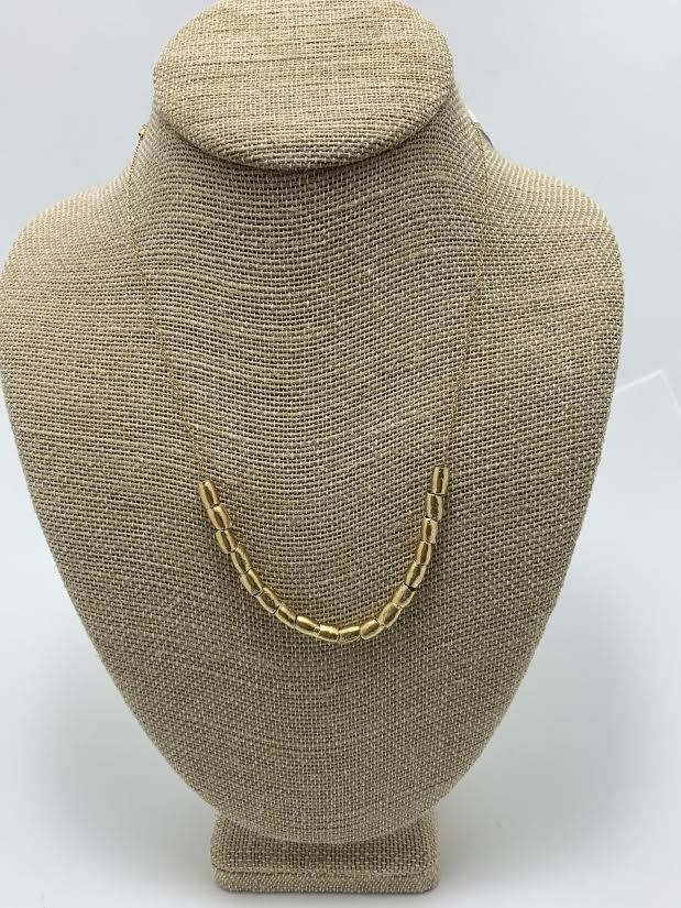 Egyptian Add-a-bead, gold plate