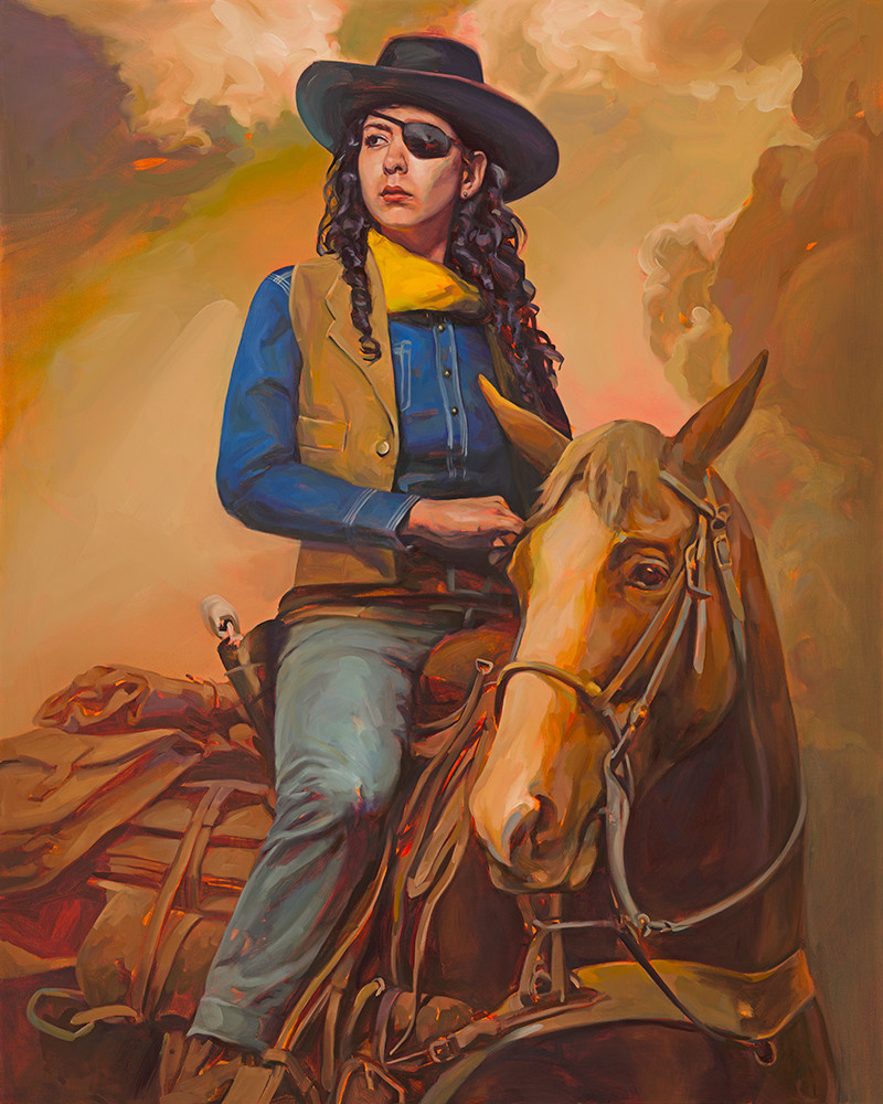 REBEKAH WAYNE IN 'TRUE GRIT' 30x24 Edition #1