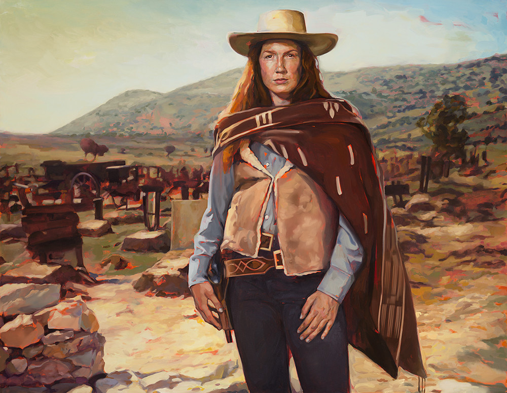 VIRGINIA EASTWOOD IN 'THE GOOD, THE BAD, AND THE UGLY'