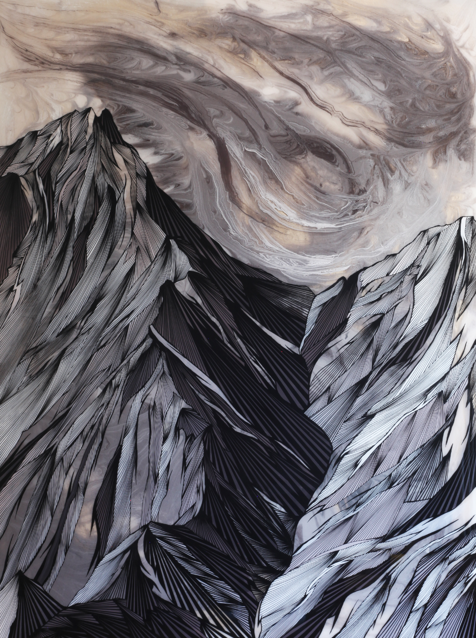 Joseph Toney | Abstracted Alpine