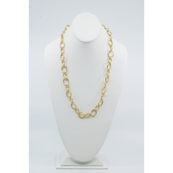 "25"" Vermeil Chunky Link Necklace"