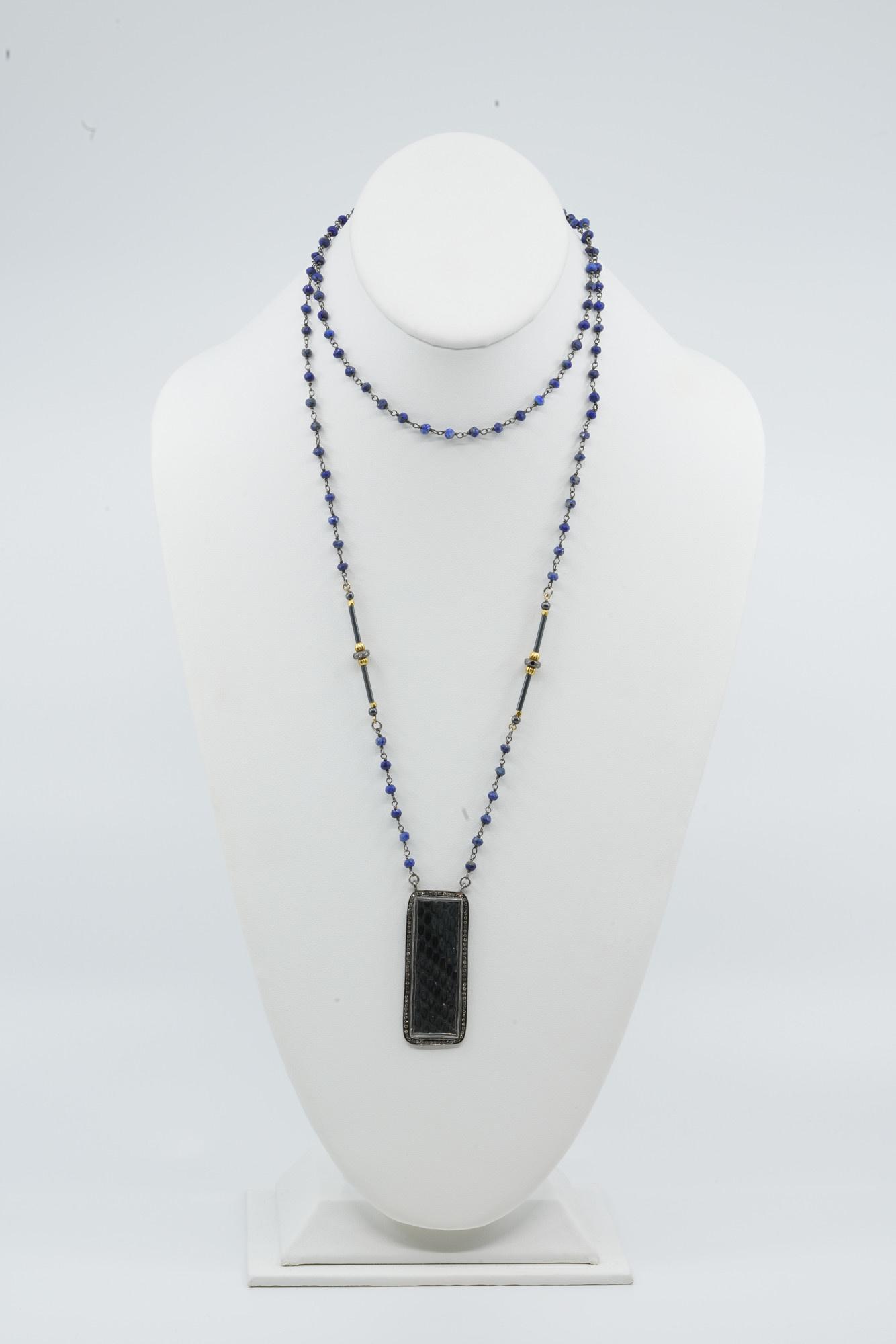 Python Tab Necklace