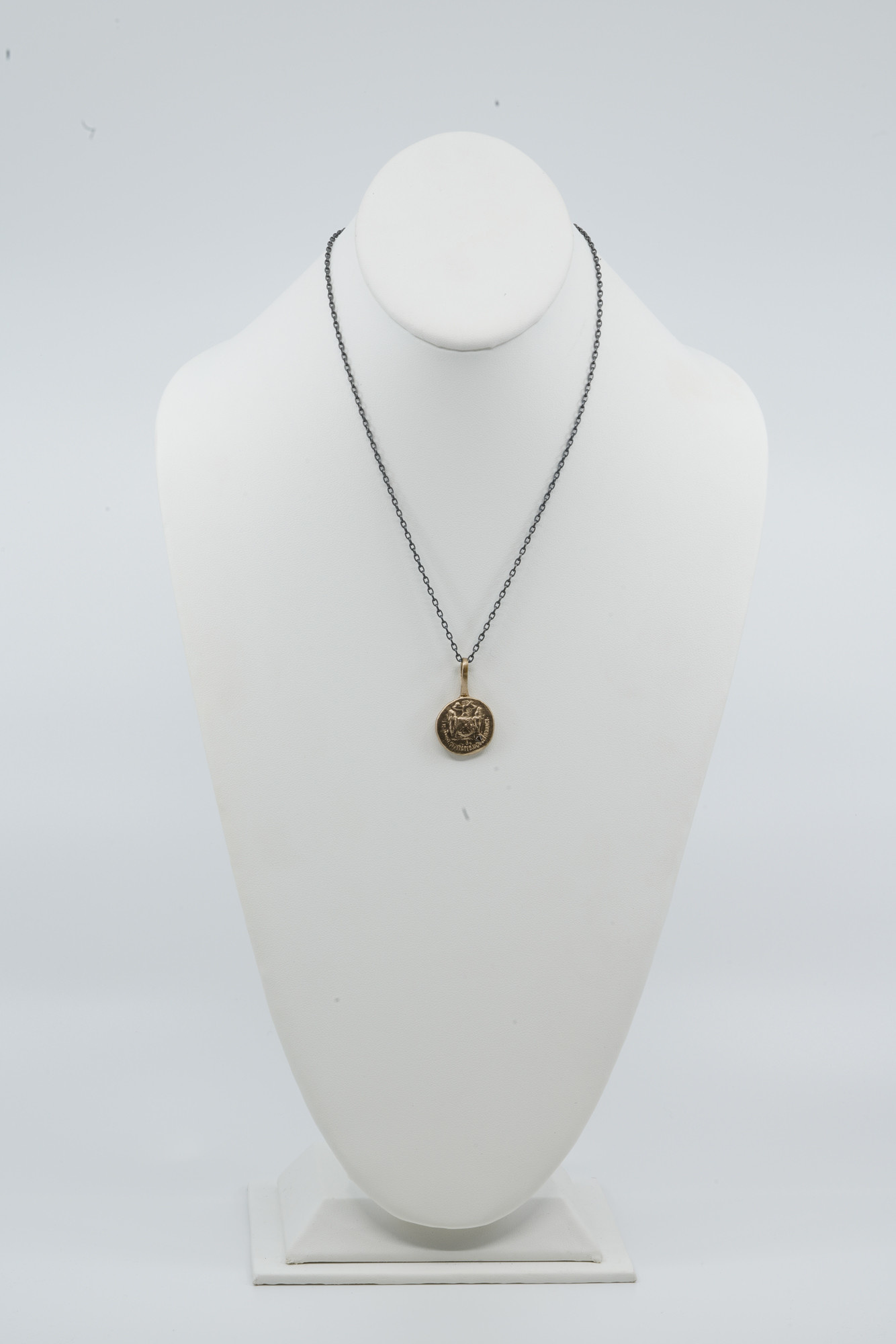 Small Bronze Coin Necklace
