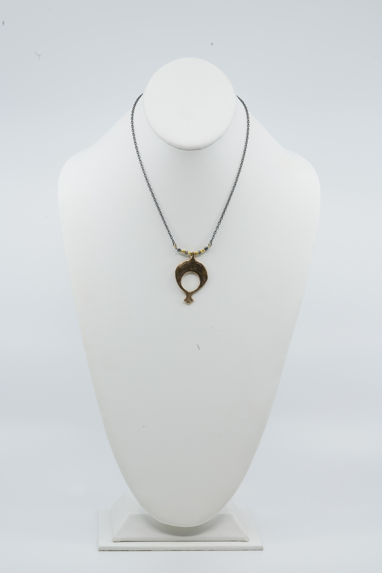 Bronze Ethiopian Pendant Necklace