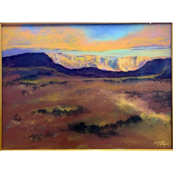 HEADING WEST  *Sold*