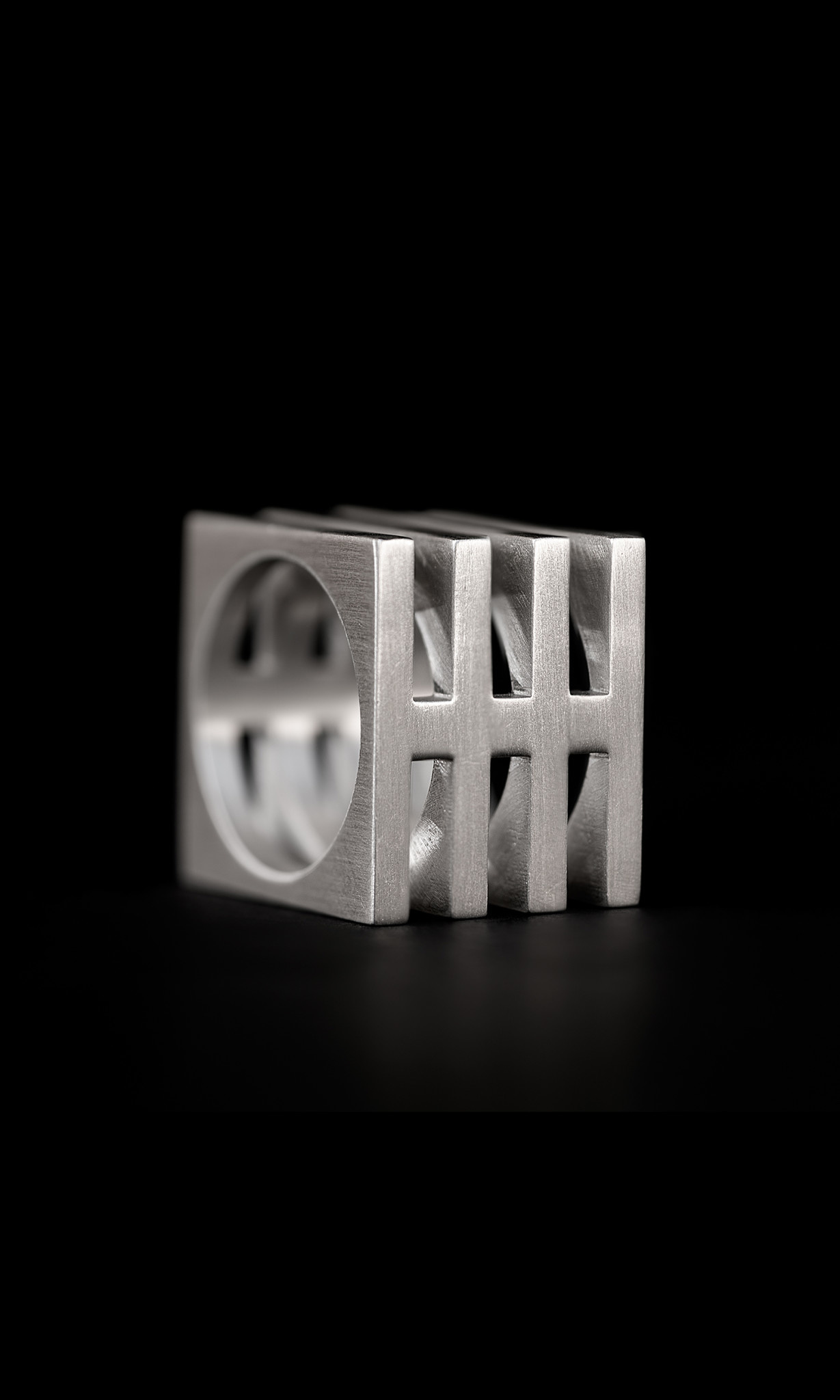 Sterling Cage Ring