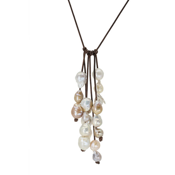 Six Strand Pearl Drop