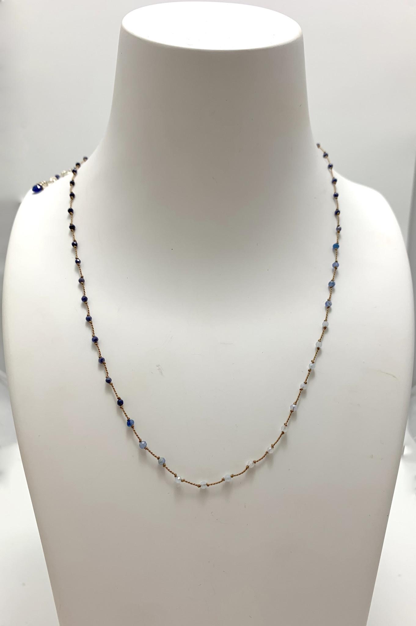 Illusion Micro Sapphire, Kyanite, & Moonstone